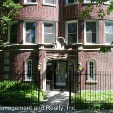Rental info for 1216-18 W. Roscoe 1218-GR in the Chicago area