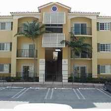 Rental info for 7290 NW 114th Ave #212