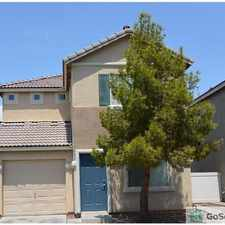 Rental info for Adorable 3 br 2.5 ba house in gated community in the North Las Vegas area