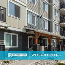Rental info for Webber Greens