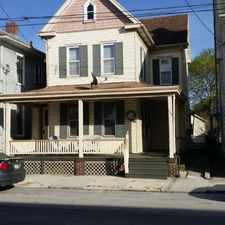 Rental info for 109 Pleasant Ave