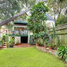 Rental info for AMAZING 3 BEDROOM SEMI MINUTES TO BEACH AND CAFES! in the North Bondi area