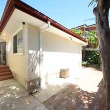 Rental info for Near new Granny flat at convenient location in the Wiley Park area
