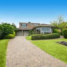 Rental info for A Family Home with Gardening Included in the Frankston South area