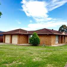Rental info for Family Friendly 4 Bedroom Home in the Narellan area
