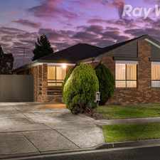 Rental info for PICTURE PERFECT HOME IN FAMILY FRIENDLY COURT! in the Melbourne area