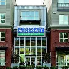 Rental info for Array in the Olympic Hills area