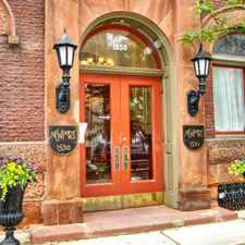 Rental info for 1530 Spruce Street in the Rittenhouse Square area