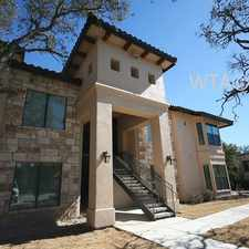 Rental info for Avery Ranch and Riviera in the Cedar Park area