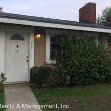 Rental info for 277- 279 N. Spruce Ave.