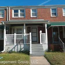 Rental info for 7906 Kavanagh Rd in the Dundalk area