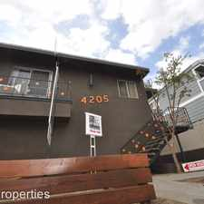 Rental info for 4205 Arch Drive 21 in the Los Angeles area