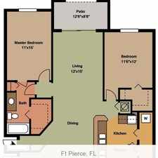 Rental info for Outstanding Opportunity To Live At The Fort Pierce City Club. Parking Available!