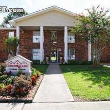Rental info for $835 2 bedroom Apartment in East Baton Rouge in the Baton Rouge area
