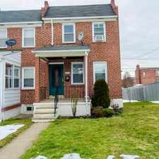 Rental info for 6828 Conley Street in the Dundalk area