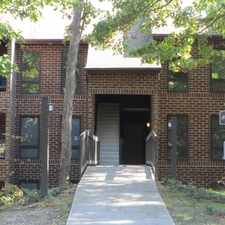 Rental info for Neat and clean top level condominium.