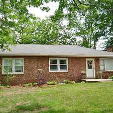 Rental info for ADORABLE BRICK RANCH