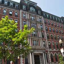 Rental info for Franklin Square Apartments (Apartment Home Living for Adults 62+) in the Lower Roxbury area