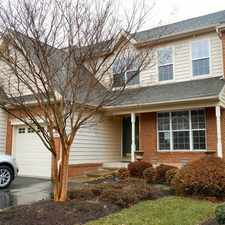 Rental info for 43242 Baltusrol Ter- Upscale 3 Level, 3BR, 2.5 BA Townhome in Belmont Country Club facing the Golf Course in Ashburn!