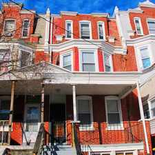Rental info for 419 N Broom St in the Wilmington area