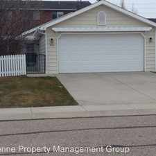 Rental info for 306 Arbor Lane in the Cheyenne area