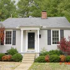 Rental info for 1300 Maxwell in the Tupelo area