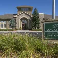 Rental info for Ranchstone Apartments in the Parker area