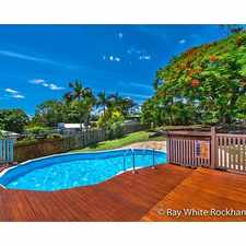 Rental info for 2 BED, 2 SUNROOM, and a POOL! in the Rockhampton area
