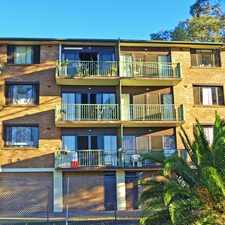 Rental info for Fantastic 2 bedroom Unit in a Central Location in the Wyong area