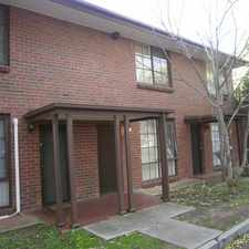 Rental info for HECTORVILLE - Lovely 2 bedroom townhouse in the Hectorville area