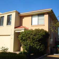 Rental info for Well Presented Townhouse