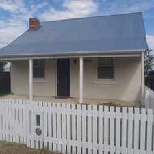 Rental info for 'Mabeljean Cottage' in the Tamworth area