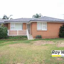 Rental info for Perfect For Summer! in the Glenfield area