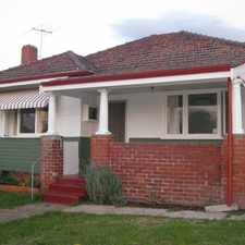 Rental info for CHARACTER HOUSE IN EXCELLENT LOCATION in the Perth area