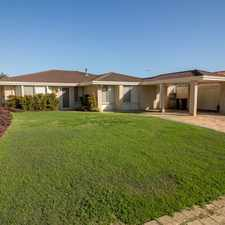 Rental info for This home won't last! Inc lawn mowing AND *** $100 Coles/Myers Gift Voucher on Acceptance *** in the Perth area