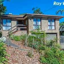 Rental info for 3 BEDROOM HOME IN THE HEART OF GREENSBOROUGH!