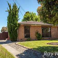 Rental info for Updated Beauty and Court Location in the Dandenong North area