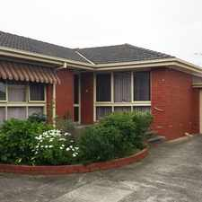 Rental info for IMMACULATE UNIT IN CENTRAL OAKLEIGH