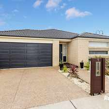Rental info for SPACIOUS AND MODERN FAMILY HOME in the Melbourne area