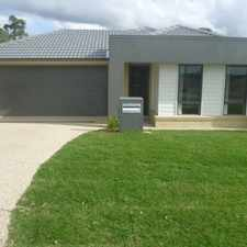 Rental info for ELEVATED POSITION, SORT AFTER ESTATE in the Coomera area