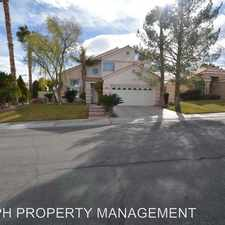 Rental info for 9613 Port Huron Ln in the Sun City Summerlin area