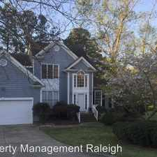 Rental info for 110 Palmer Meadow Ct