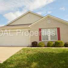Rental info for 10002 Big Bend Drive in the 46278 area