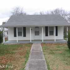 Rental info for 322 Russell Road