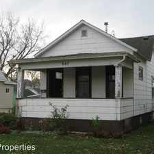 Rental info for 645 3rd Ave S. in the Clinton area