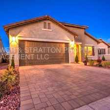 Rental info for 5590 W MONTEBELLO WAY - 4BR 2BA Hunt Hwy/Merrill Ranch Pkwy - ABSOLUTELY BEAUTIFUL HOME WITH TONS OF UPGRADES! PRIVATE YARD! MOUNTAIN VIEWS! CALL TODAY! in the Florence area