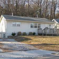 Rental info for 1513 Summit Drive in the Ames area