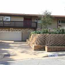 Rental info for Beautiful 5 Bed 2.5 Bath House in Ramona Country Estates