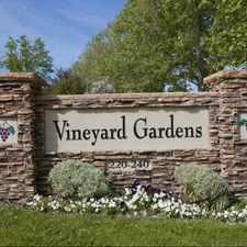 Rental info for Vineyard Gardens