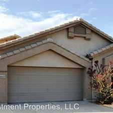 Rental info for 14624 North 87th Drive